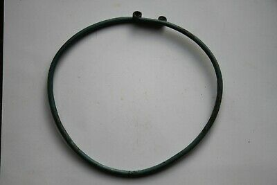 ANCIENT CELTIC BRONZE NECK TORC TORQUE 4/3rd CENTURY BC NECKLACE