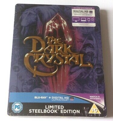 The Dark Crystal Limited Steelbook Edition Blu Ray New Sealed Jim Henson