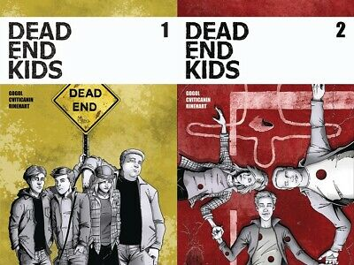Dead End Kids 1 2 lot Source Point Press Frank Gogol 1st printing
