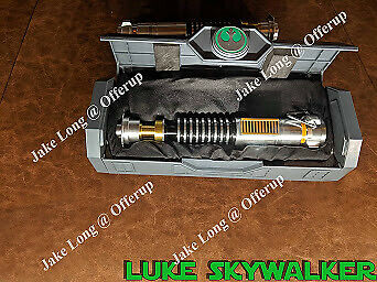 LIMITED Disneyland Star Wars Galaxy's Edge Luke Skywalker Legacy Lightsaber