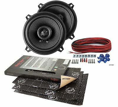 Ampire Speaker 5 1/8in Coax for Ford Probe 89-97 Front + Stp Insulation