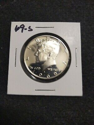 1969-S Silver,, Us Proof Kennedy Half Dollar From Us Proof Set