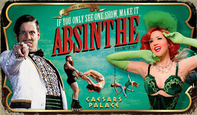 2 Tickets To Absinthe At Caesars Palace In Las Vegas