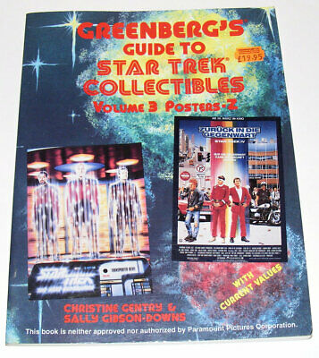 Greenberg's Guide to Star Trek Collectibles: Volume 3 | Posters - Z