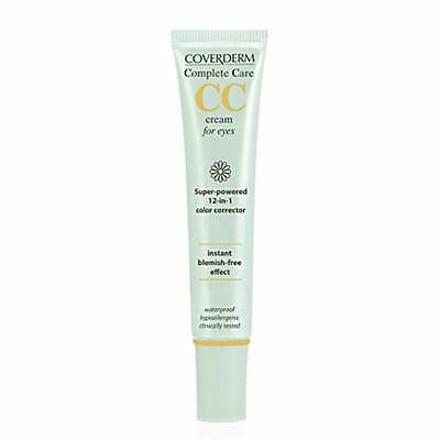 Coverderm Complete Care CC Cream For Eyes Soft Brown 15ml