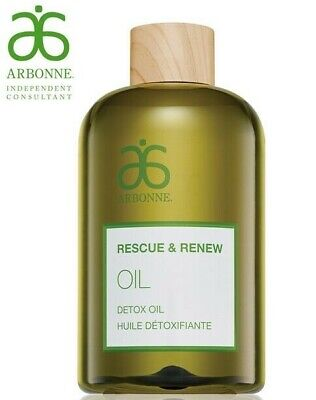 Arbonne Rescue & Renew Detox Oil 200Ml Gluten Free Vegan Fast Delivery - Rrp £48