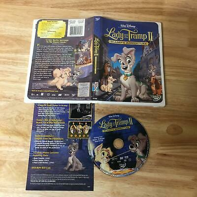 Lady and the Tramp II Scamp's Adventure DVD