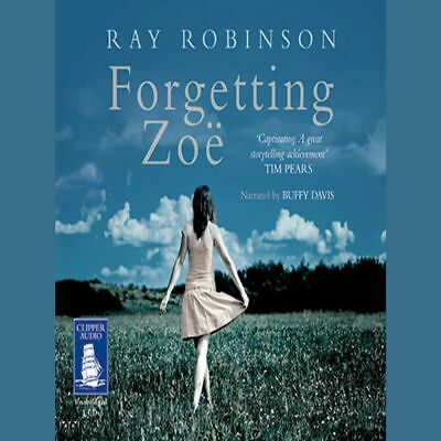 """Ray Robinson """"Forgetting Zoe"""" Seven CD audio talking book in very good used con."""
