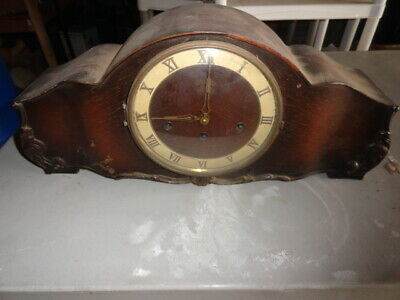 Antique Art Deco Mantle Clock Vintage Mantel Vintage Chimes