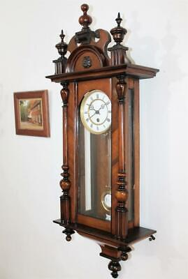 Fine Very Original Kienzle German Vienna Regulator Non Striking Wall Clock C1900