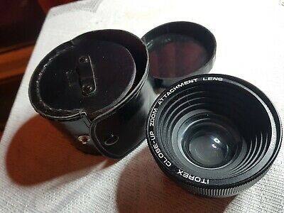Itorex Close-Up Zoom Attachment  Lens - Series VII Mount with leather case