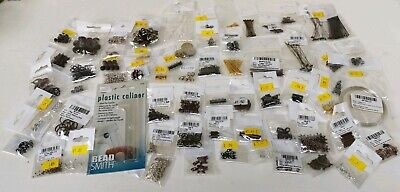 Job Lot Jewellery Making Items, Findings, Large Amount, New In Packages