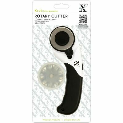 Xcut Rotary Cutter Trimmer Tool Straight or Wavy With Flexible Safeguard 45mm