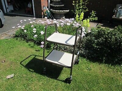 Height Adjustable Disabled Carer / Medicines Trolley Used