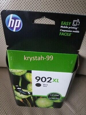 HP 902XL OEM Genuine High Yield Black Original Ink Cartridge T6M14AN Exp. 11/20