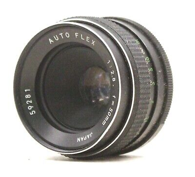 AUTO FLEX 50mm f/2.8 M42 Mount Prime Camera Lens  - BA6