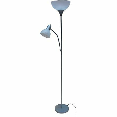 """72"""" Combo Floor Lamps, 2 Pack Reading Light Stand Living Room Torchiere 2DayShip"""