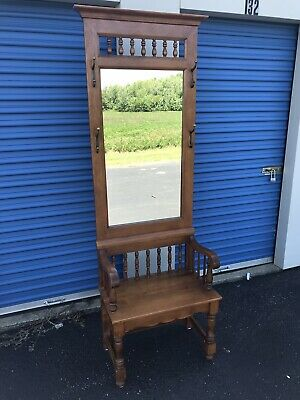 Nice Tell City Chair Company Solid Hard Rock Maple Andover Hall Tree