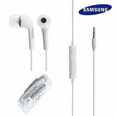 NEW Universal Samsung J5 Handsfree Headphones Earphones Earbud with Mic