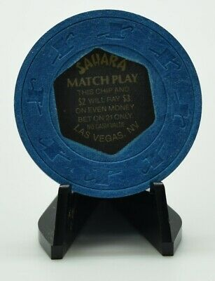 Sahara Match Play Casino Chip Las Vegas Nevada H&C Paul-son Mold 1980's