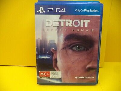 Detroit Become Human Sony Ps4 Game
