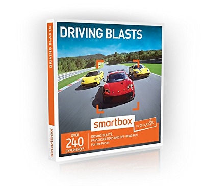 Buyagift Driving Blasts Gift Experiences Box - 240 driving days from off road to