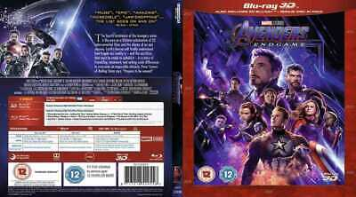 AVENGERS- END GAME 3d  BLURAY (REGION CODE NOT REQUIRED)