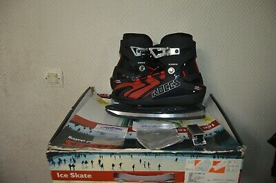 Patin A Glace Hockey  Roces Ice Skate Taille 36/37/38/40 Neuf + Affuteur