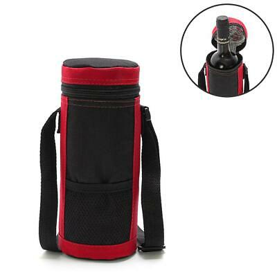 8L Red Wine Cooler Bag Portable Oxford Cloth Insulation Wine Bottle Tote Ice Bag