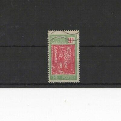 CAMEROUN , 1925, SG80 50c RED AND GREEN, USED......G.C.V..