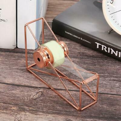 Tape Cutter Dispensers Metal Accessories Office Supplies Rose Gold Color