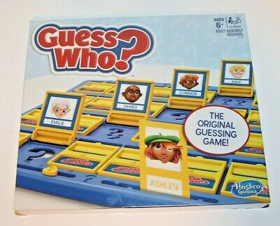 Guess Who? Classic Family Board Game (The Original Mystery Face Guessing Game)