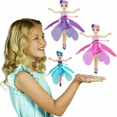 Flying Fairy Princess Dolls Magic Infrared Induction Control Toy Xmas Gift UK L1
