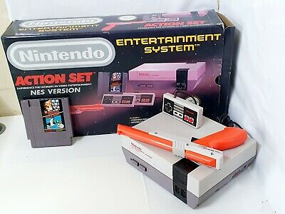 Original Nes Nintendo Entertainment System Boxed & 1X Controller & Zapper