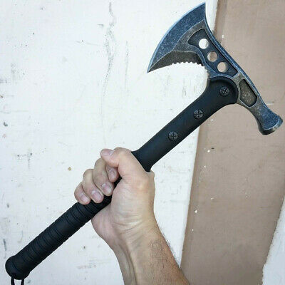 Tactical Axe Army Outdoor Hunting Tomahawk Camping Survival Machete Hatchet Axes