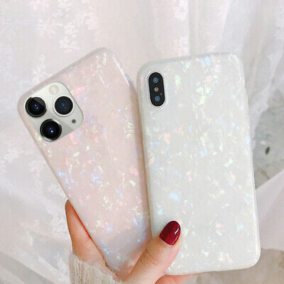 For iPhone 11 Pro Max XS XR X 8 7 Plus Shell Marble Shockproof Hard Case Cover
