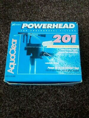 Hagen 201 Powerhead for under gravel filters             FREE POSTAGE