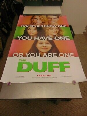 The Duff 2015 Mae Whitman Bella Thorne Lgbtq Teaser Movie Poster N6675