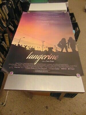 Tangerine 2015 Sean Baker Lgbtq Movie Poster N6682