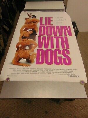 Lie Down With Dogs 1995 Wally White Lgbtq Movie Poster N6703