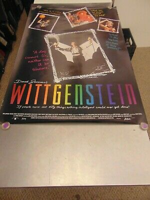 Wittgenstein 1993 Derek Jarman Tilda Swinton Lgbtq Movie Poster N6695