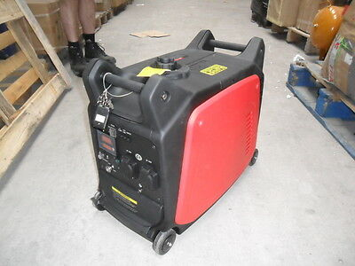 Silent Petrol Generator 3.5 Kw Electric  Remote Start 2 Yr Warranty