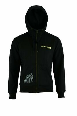 Motorbike CE Armoured Hoodie Zip up Jacket Summer Armour Removable Motorcycle