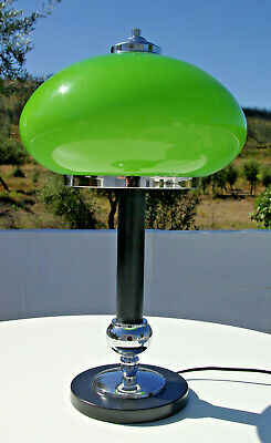 Art Deco Table Light Lamp Space Age Modernist Bauhaus Vintage Retro 1970s 1960s