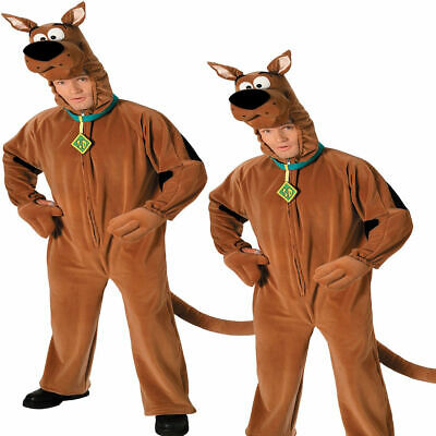Official Scooby Doo costume Adults Mens Fancy Dress costume Licensed Cartoon Out