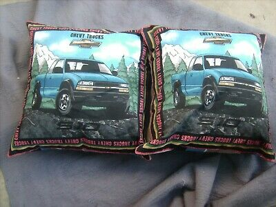 Chevy Truck        One Pair Of Cushion 40  Cm / 16 Inches