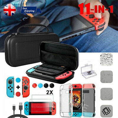 Switch Case Bag &Shell Cover &Charging Cable &Protector Accessories for Nintendo