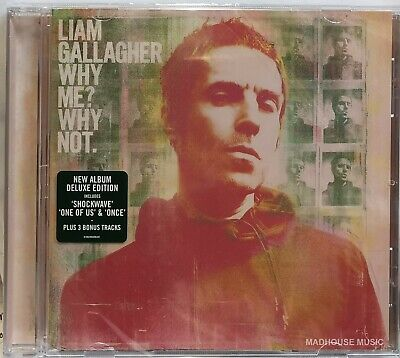 LIAM GALLAGHER CD Why Me? Why Not 2019 Shockwave One Of 14 Trk EXTENDED IN STOCK