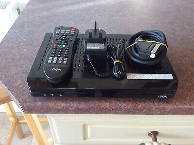 Logik L5SSTB12 A 500gb Recordable Freeview + Box In Vgc As Pictured