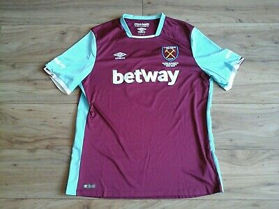 West Ham United Home Shirt 2016  No 9 Uk Xxl Great Condition